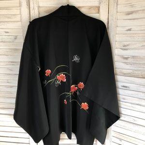 Jackets & Coats - Vintage Japanese Kimono Jacket (haori)